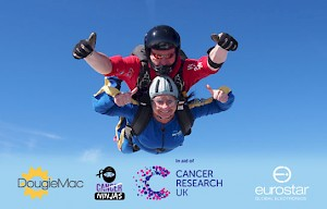 Credit Controller, Emma Smith completes Charity Skydive