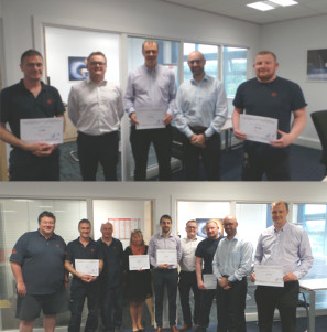 Staff presented with 10 year length of service awards