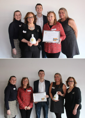 Eurostar Global win two awards at the Dougie Mac Business Awards