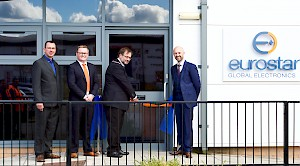 Newcastle-under-Lyme Mayor officially opens new Eurostar Global offices